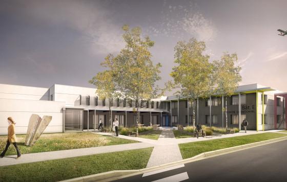 Rénovation du centre de formation de l'ENAC à Muret