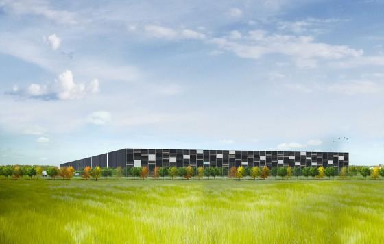 Construction d'un bâtiment d'activité