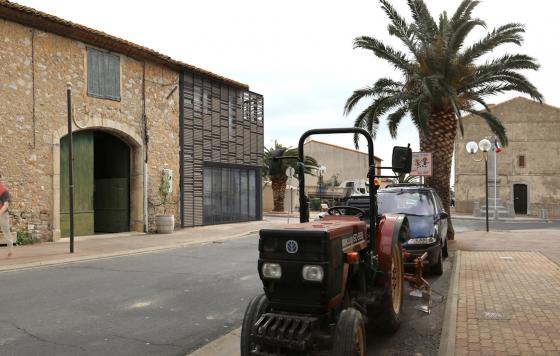 Construction d'un Chai de vinification et stockage