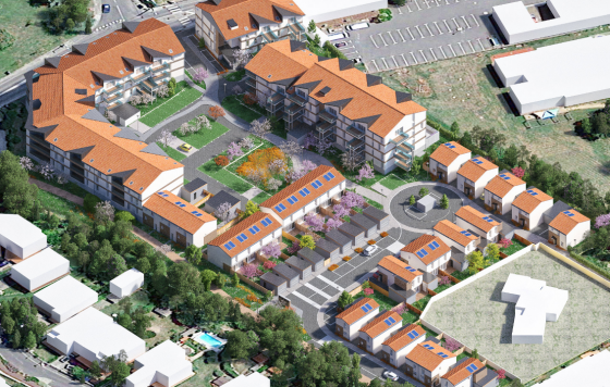 Construction de 125 logements collectifs à Villeneuve-Tolosane