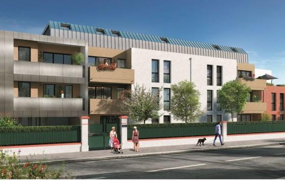 Construction de 95 logements collectifs et 4 villas à Tournefeuille