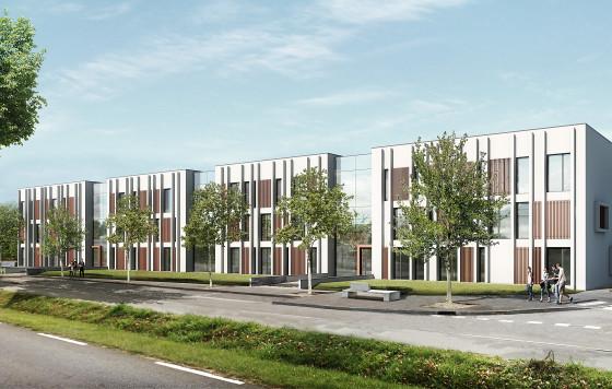 Construction Pôle médical et bureaux Zac Andromède Beauzelle