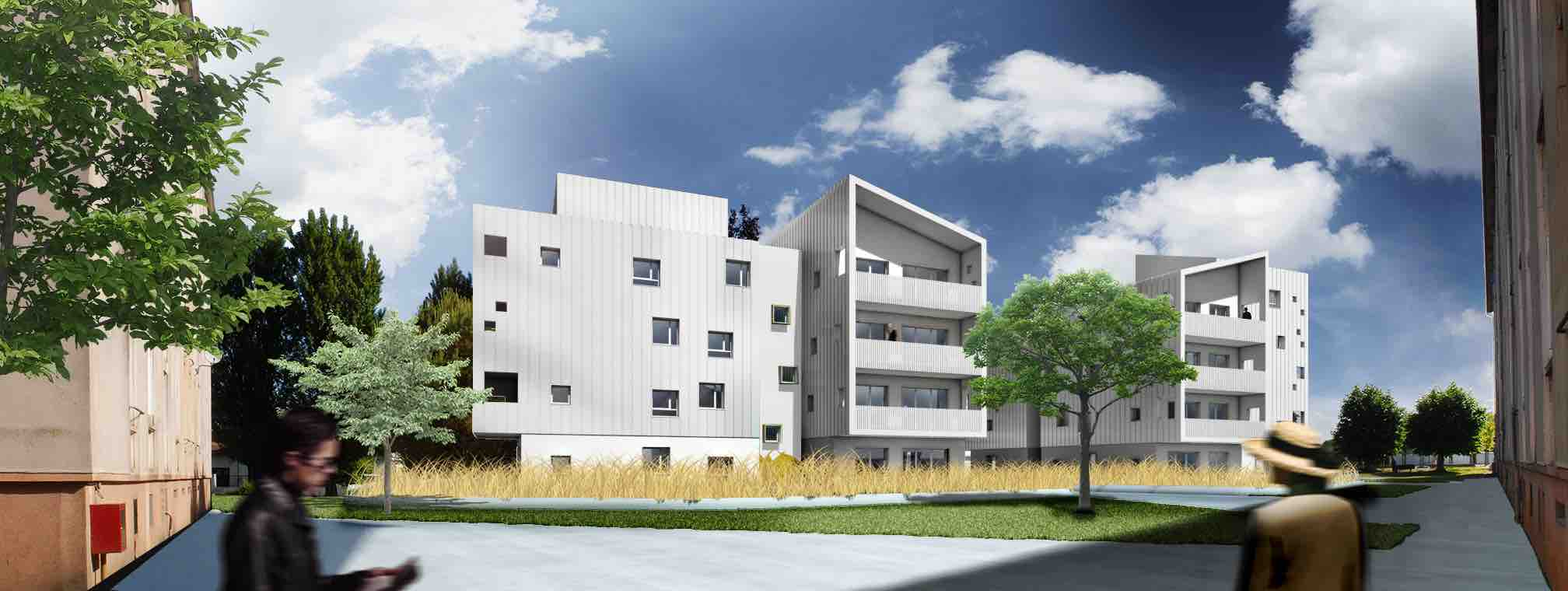 etude thermique logement collectif f&h ingenierie begles